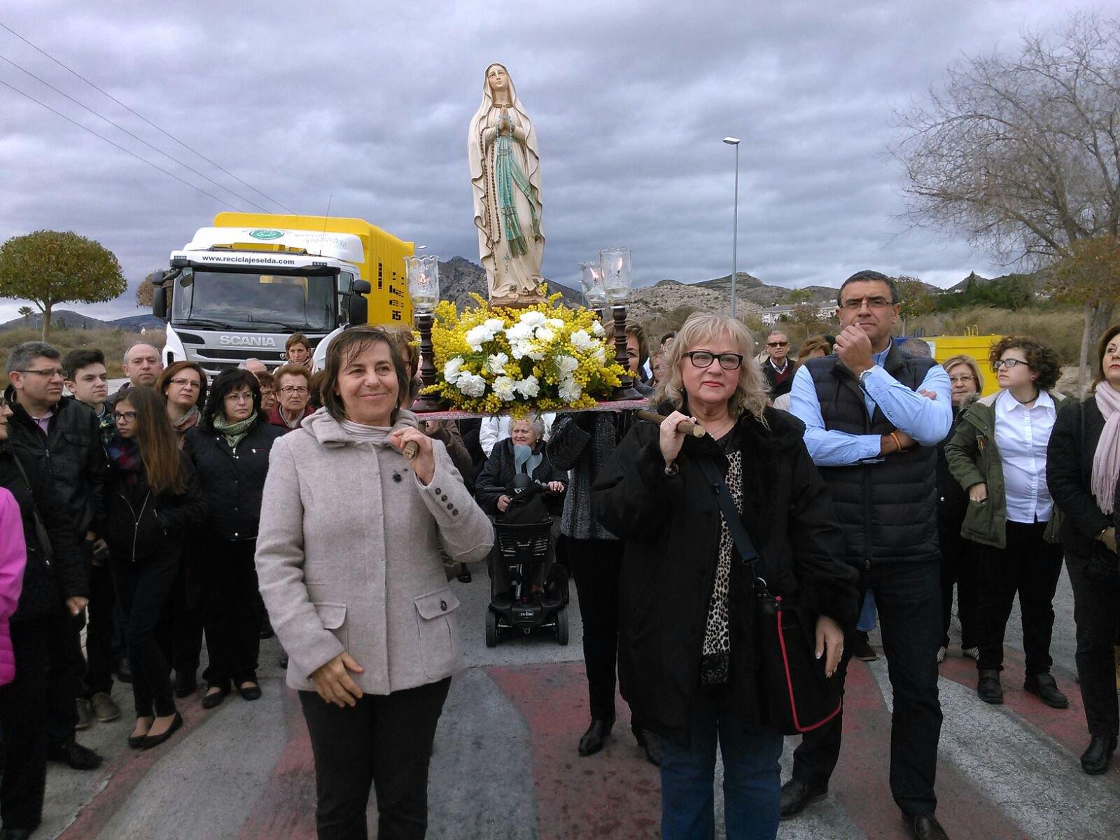 (2016-02-13) - Inauguración Virgen de Lourdes, La molineta - Miguel Angel Miralles Cano  (01)