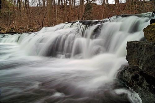 waterfall corbettsglen allenscreek postcardfalls