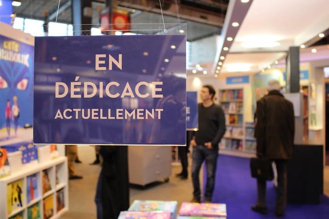 En dédicace actuellement - Livre Paris 2016