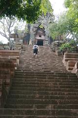 Stairs up to Wat Banan