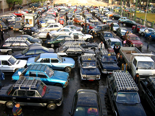Cairo Traffic Jam | by walidhassanein