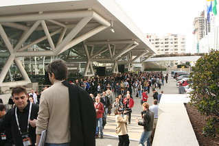 Queue to GDC's first Keynote | by acagamic (Lennart Nacke)
