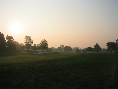 morning 2004 monster sunrise golf dawn championship michigan pga 2008 rydercup bloomfieldhills oaklandhills amazingmich