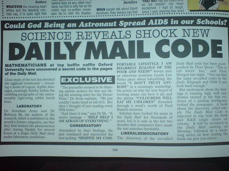Daily Mail Code