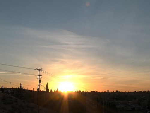 california sunset sun clouds highdesert southerncalifornia hdr victorville