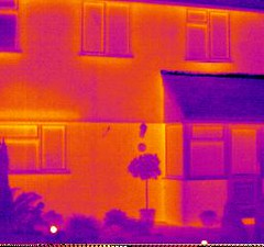 Thermal Camera image of house | by Martin Tod