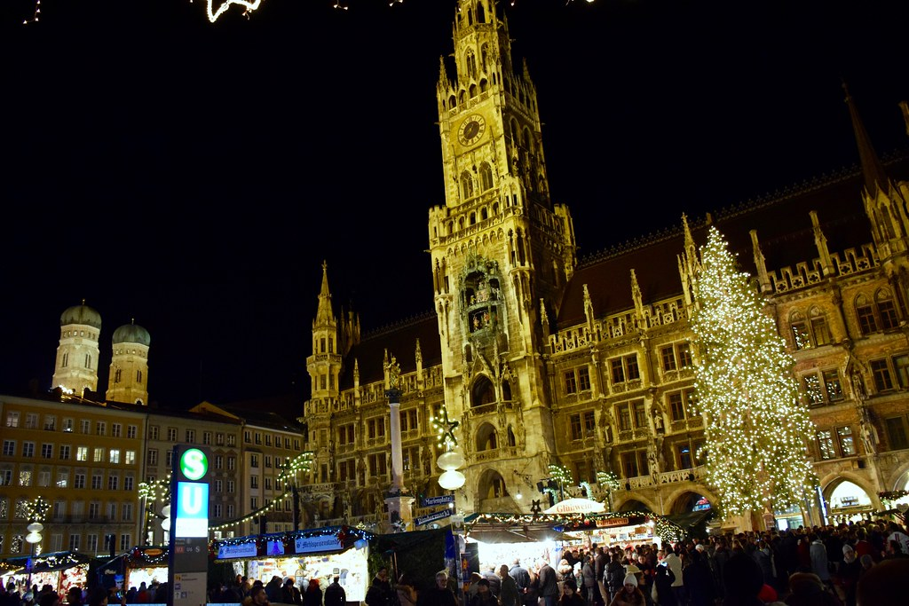 Munich Christmas Market.Munich Christmas Market Dan Flickr