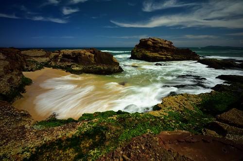 seascape rocks australia newsouthwales aus ndfilter mossyrocks watermovement camdenhead dunbogan nikon1635mmf4 paulhollins nikond750