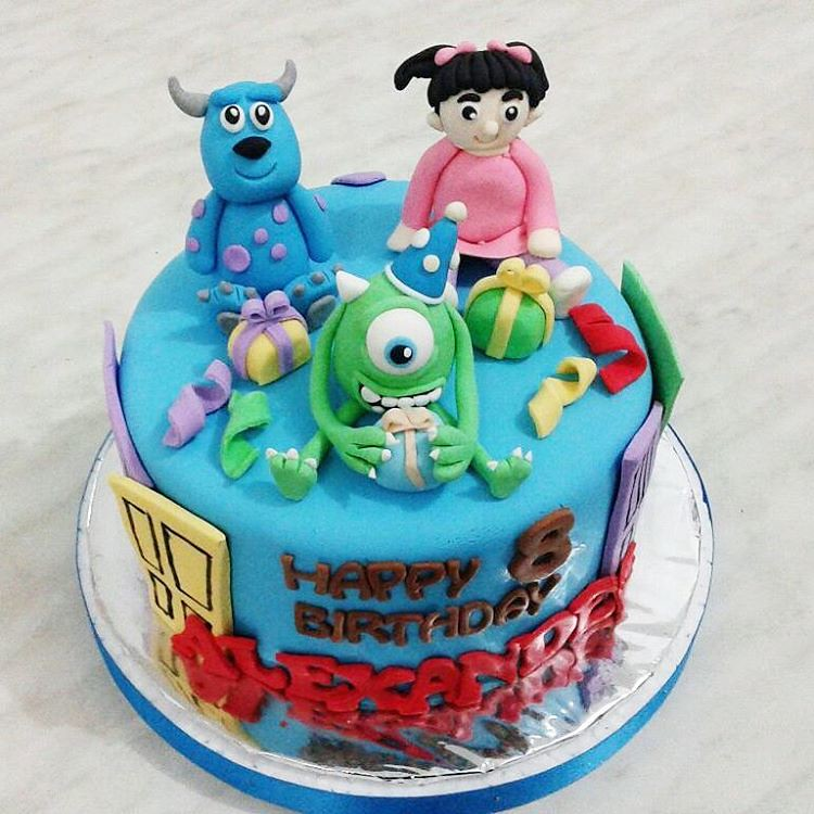 Phenomenal Colorful Interesting 3D Birthday Cake Hhmm Is It Mon Flickr Personalised Birthday Cards Epsylily Jamesorg
