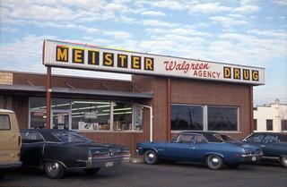 1972 or so - Meister Drug Store