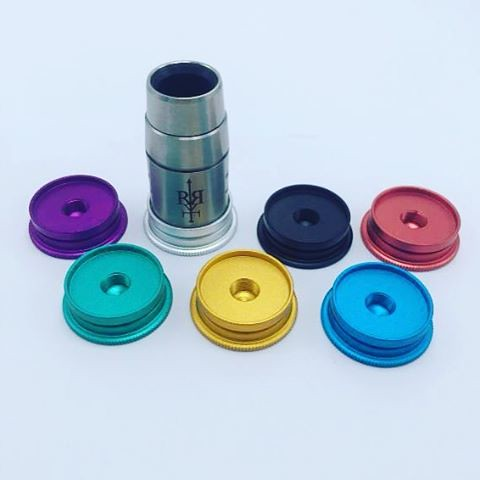The latest style high end aluminum colorful new 510 tanks