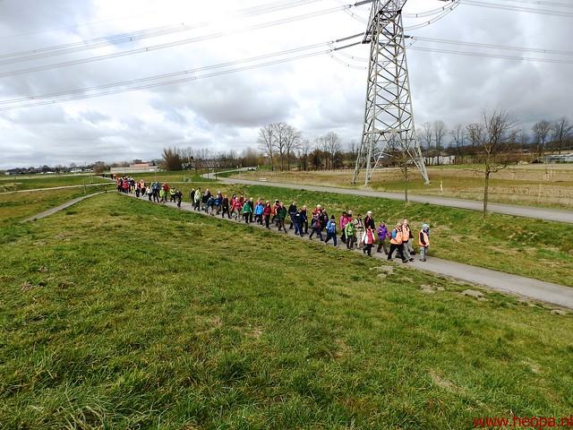 2016-03-23 stads en landtocht  Dordrecht            24.3 Km  (109)
