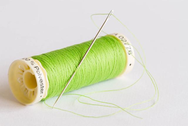 95/366: A stitch in time