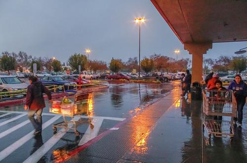_IGP6628.JPG Costco in Clovis, CA. on a rainy evening