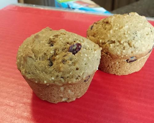 """""""Cranange"""" - Millet Muffins   by yummysmellsca"""