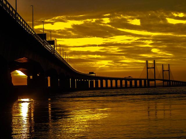 The Golden Severn Bridge