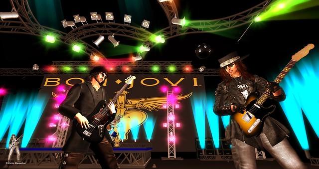 Bon Jovi Live @ Hysteria 03-05-2016 for TRC in Second Life
