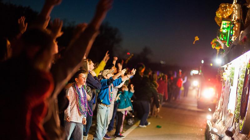 The Krewe of Centaur Mardi Gras Parade