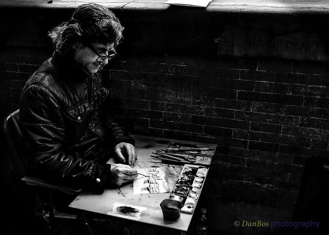 """Paiting """"Ponte Vecchio"""""""