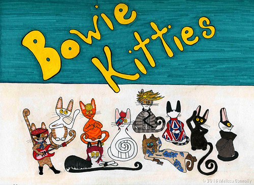 Bowie Kitties (January 28, 2016)