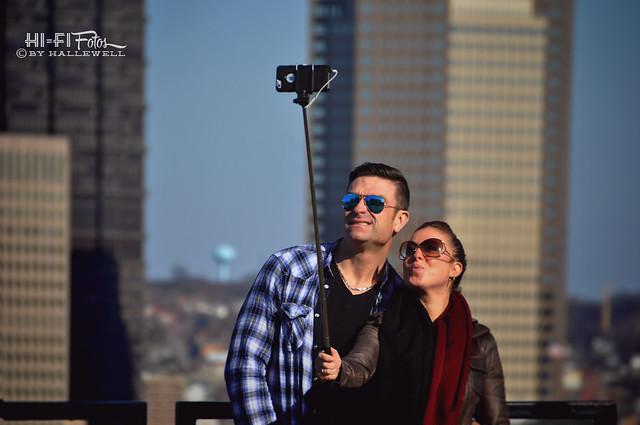 Selfie Stick People