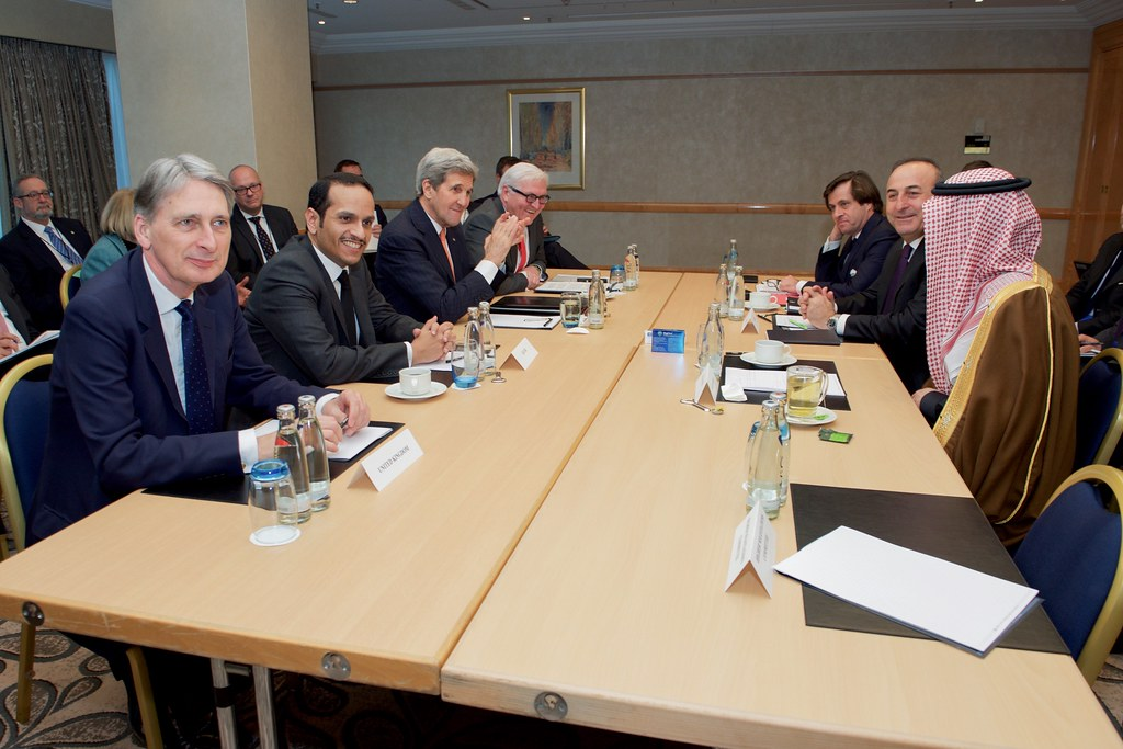 Secretary Kerry Meets in Germany With Foreign Ministers from Turkey, Saudi Arabia, United Kingdom, Qatar, and Germany, and Political Director of France, to Speak About Syria