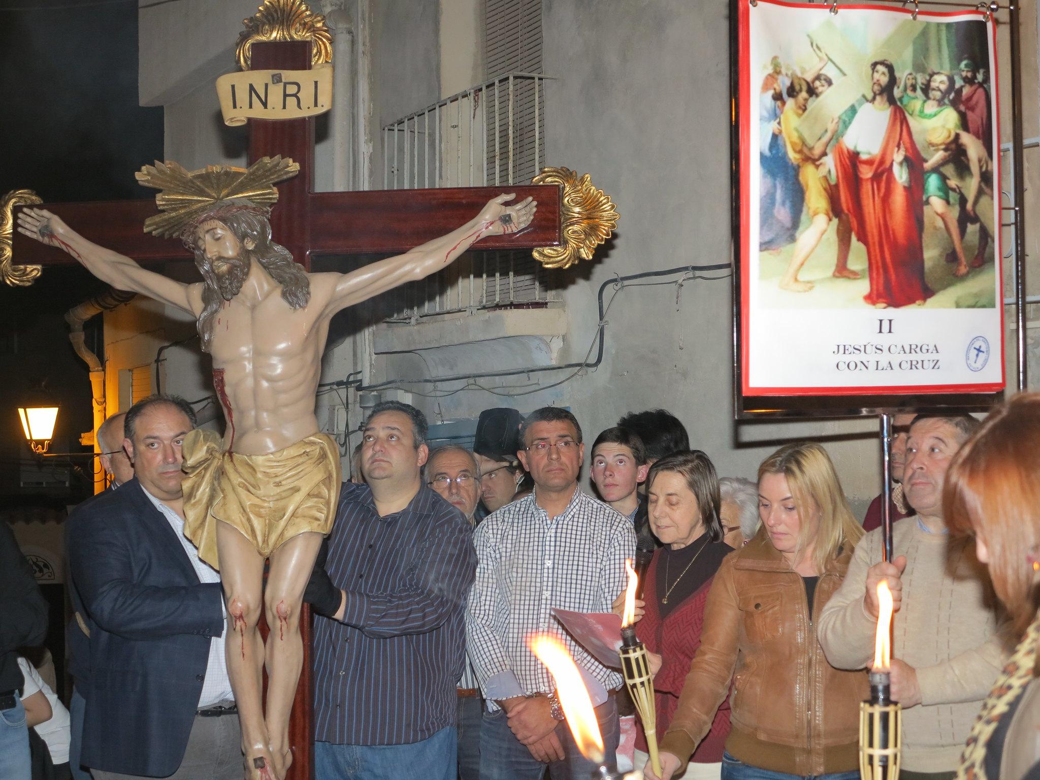 (2014-04-01) - V Vía Crucis nocturno - Antonio José Verdú Navarro (13)