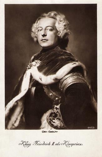 Otto Gebühr in Fridericus Rex (1922-1923)