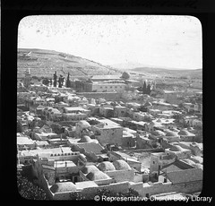 'View of Jerusalem looking south'