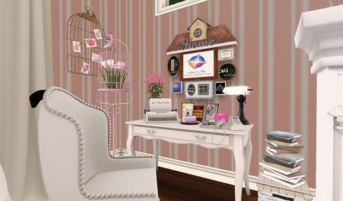 Bedroom Desk (H&G Expo 2016) | by Hidden Gems in Second Life (Interior Designer)