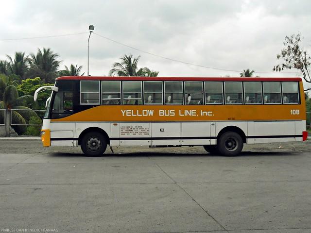 Yellow Bus Line 108