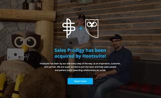 Sales Prodigy | by Marc van der Chijs