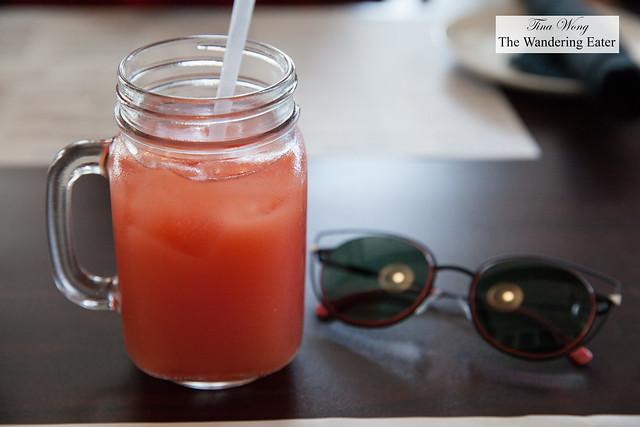 Watermelon lemon juice