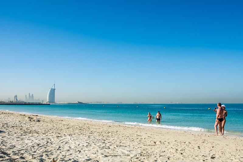 Kite Beach. Dubai