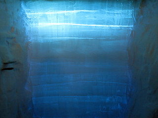 Backlit snowpit | by U.S. Ice Drilling