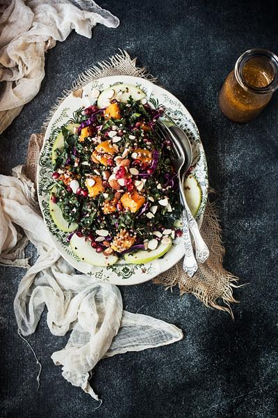 Tacolicious Winter Kale Salad