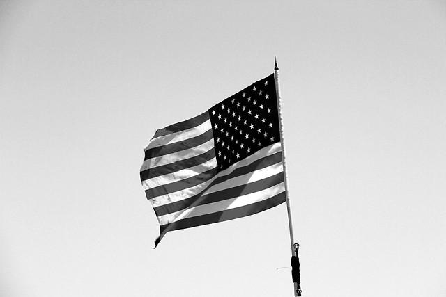 The FLAG, Santa Monica Pier, CA, USA.
