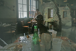 Jazz Kid in a New Orleans Cafe