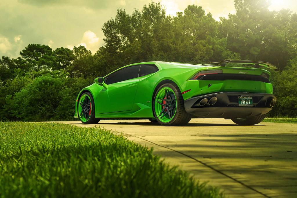 Green Lamborghini Huracan Hd Wallpaper Stylishhdwallpape