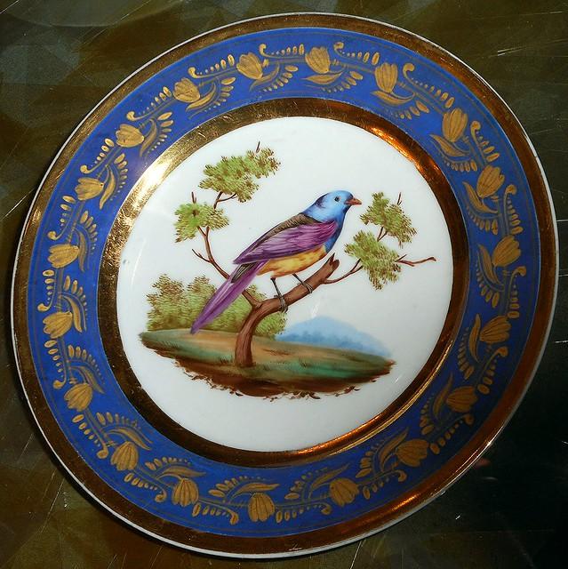 Bird - Porcelain, French manufacture 1830-1840 - Villa Pignatelli Museum in Naples