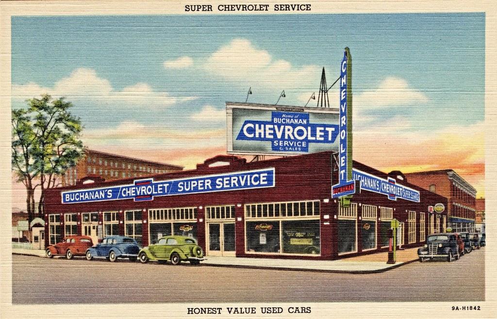 Buchanan Chevrolet 3rd Wall Spokane Wa 1930s 702 W 3 Alden Jewell Flickr