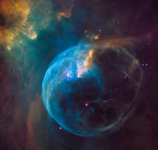 Hubble Sees a Star 'Inflating' a Giant Bubble | by NASA Goddard Photo and Video