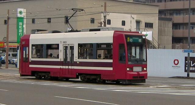 Tramway in Nagasaki Japan 2011