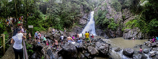 La Mina Falls in El Yunque National Forest