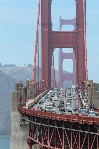 sanfrancisco california travel bridge usa architecture flickr traffic vehicle
