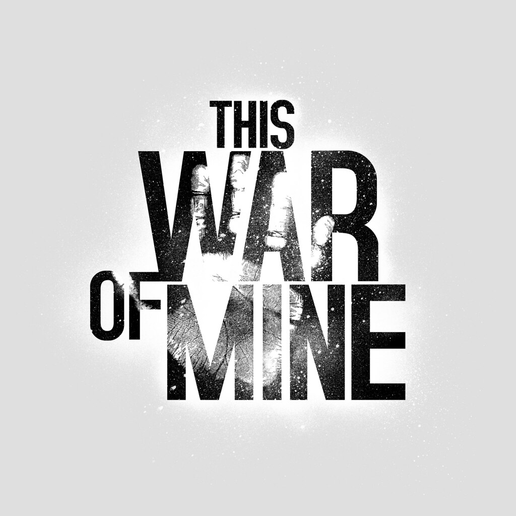 This War Of Mine Black On White Logo Design For 11bit Stud Flickr