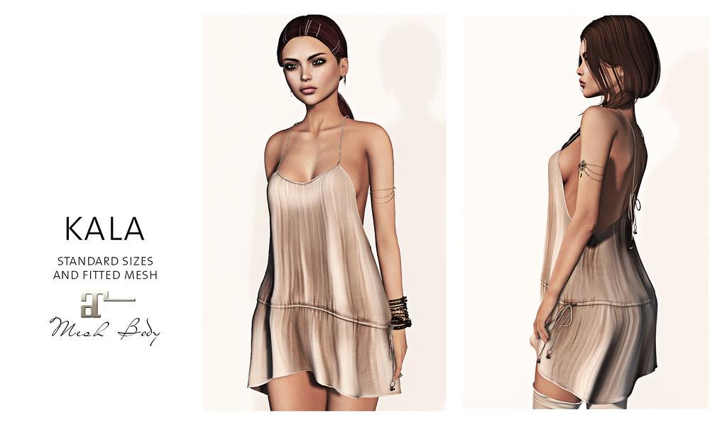 Maitreya Kala Dress | Kala dress for Lara mesh body and in s… | Flickr