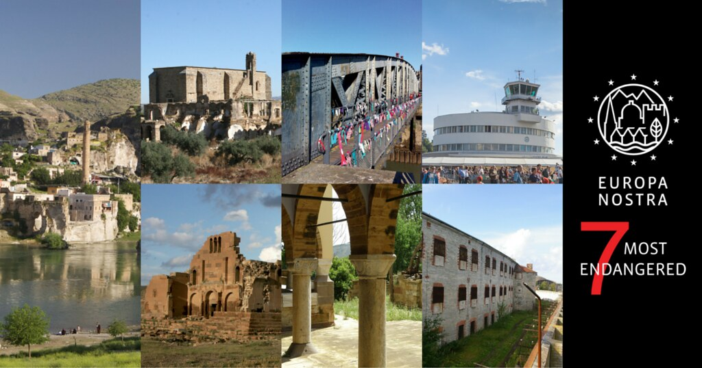 Europe's 7 Most Endangered heritage sites 2016 announced - Europa Nostra