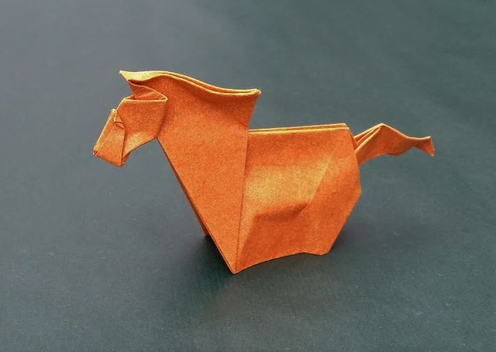 Wet Fold Origami Technique – WeezBlog | 514x724