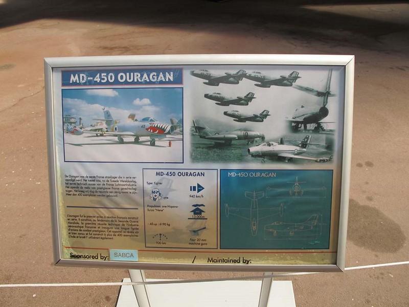 Dassault M.D.450 Ouragan 2